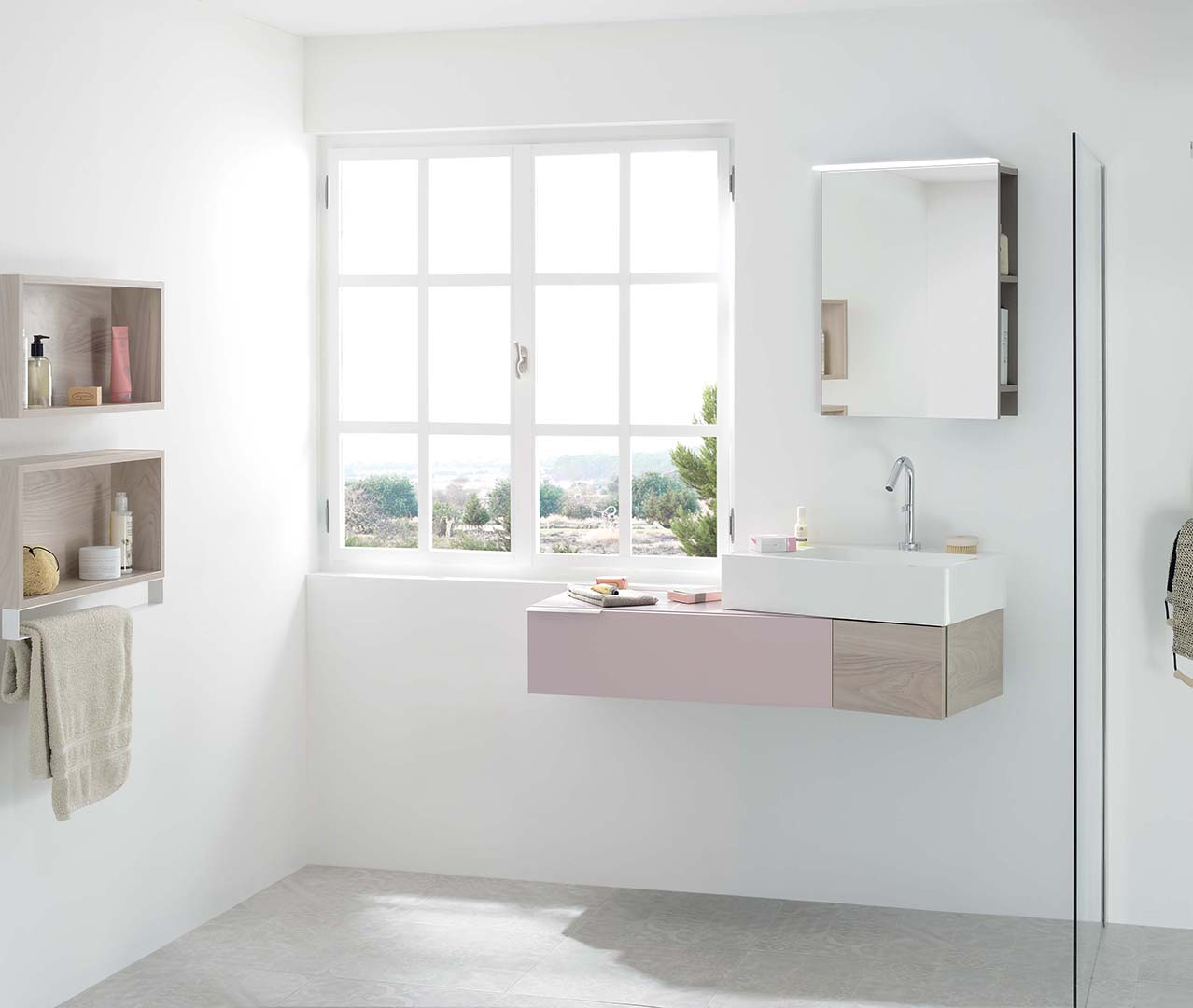 Das Sortiment Vertigo, Design-Badezimmer, Badezimmermöbel ...